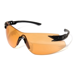 Edge Eyewear Notch Svart Tiger Eye Vapor Shield