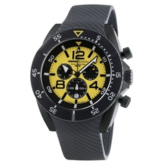 MOMO Design Dive Master PVD Chrono Gul/Svart 48mm