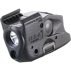 Streamlight TLR-6 SW M&P Skenmontage Lampa med Röd Laser