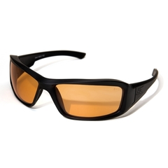 Edge Eyewear Hamel Svart Tigers Eye Vapor Shield