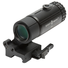 Sightmark T-3 Magnifier med LQD Flip to Side-fäste