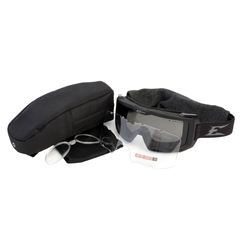 Edge Eyewear Blizzard Svart Goggle Clear G-15 Vapor Shield