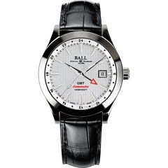 Ball Engineer II Chronometer Red Label GMT GM2026C Vit Klocka