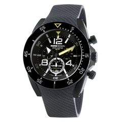 MOMO Design Dive Master PVD Chrono Svart/Vit 46.5mm