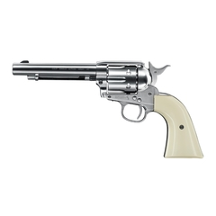 Colt Single Action Army 45 Peacemaker Nickel 4.5mm Diabolo