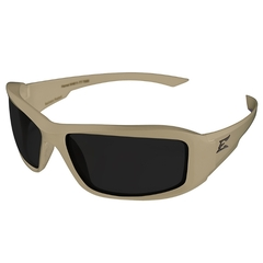 Edge Eyewear Hamel Thin Temple Matte Sand Polarized Smoke
