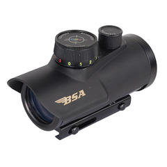 BSA Optics Huntsman 1x30 5 MOA RGB Dot Plex Rödpunktsikte