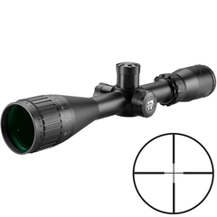 BSA Optics Sweet 17 3-12x40 Belyst Duplex Kikarsikte