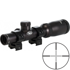BSA Optics Tactical 1-4x24 Mil-Dot Kikarsikte