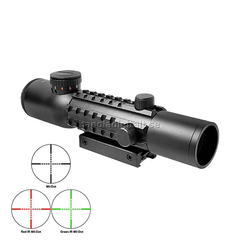 Barska Electro Sight 4x28 Tactical Multi Rail Kikarsikte