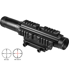 Barska Electro Sight 1-4x24 Belyst Mil-Dot Multi Rail