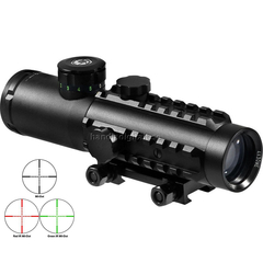 Barska Electro Sight 4x30 Tactical Multi Rail Belyst Mil-Dot