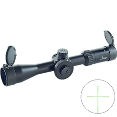 Bering Optics ACE 4-14x44 Belyst Mil-Dot Kikarsikte