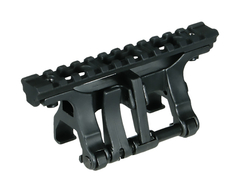 Leapers UTG MP5 Steel Claw med STANAG till Picatinnyadapter