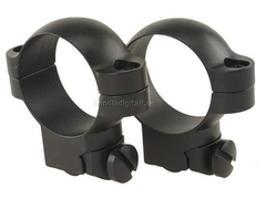 Leupold Ruger M77 Ring Mounts 30mm 77/22 Medium - Matt