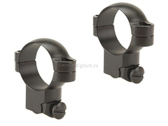 Leupold Ruger M77 Ring Mounts 30mm 77/22 Hög - Matt