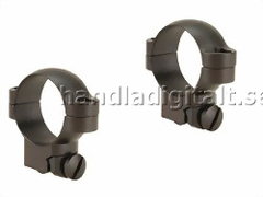 Leupold Ruger M77 Ring Mounts 30mm Medium - Matt