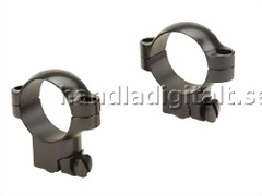 Leupold Ruger M77 Ring Mounts 30mm Hög - Matt