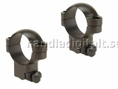 Leupold Ruger M77 Ring Mounts 30mm Super Hög - Matt