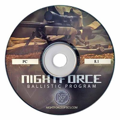 Nightforce Ballistiskt program för PC
