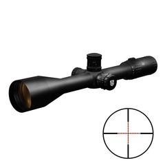Nikko Stirling Target Master 5-20x50 30mm Belyst Half Mil Dot