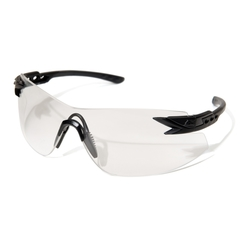 Edge Eyewear Notch Svart Clear Vapor Shield