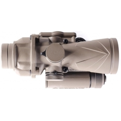 Browe Tactical Optic 4x32 Blå .223 Chevron Flat Dark Earth