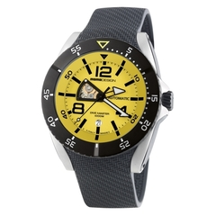 MOMO Design Dive Master Automatic Gul/Svart 48mm