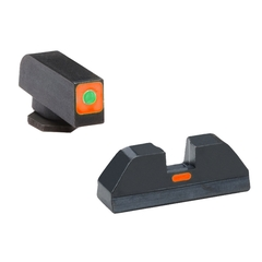 Ameriglo Cap Set Glock 42,43 Främre:Orange/Grön Bakre:Orange