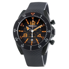 MOMO Design Dive Master PVD Chrono Orange/Svart 48mm